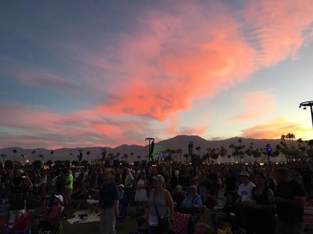 "I tramonti di ""Oldchella"", Desert Trip 2016 - Foto di Roberto Croci"