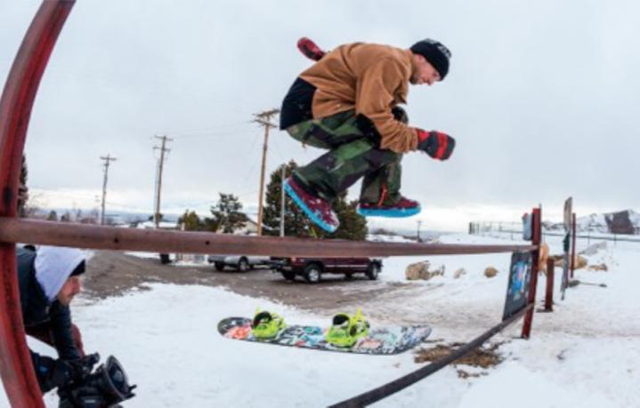 Scott Stevens, considerato il miglior snowboarder del 2015