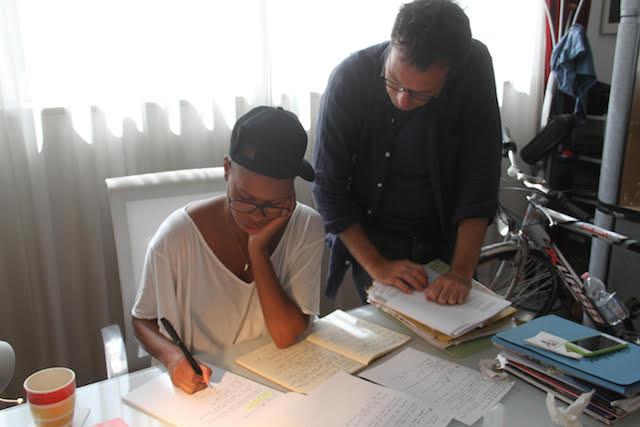 Skin e Paolo Bonvino al lavoro su Reinassance