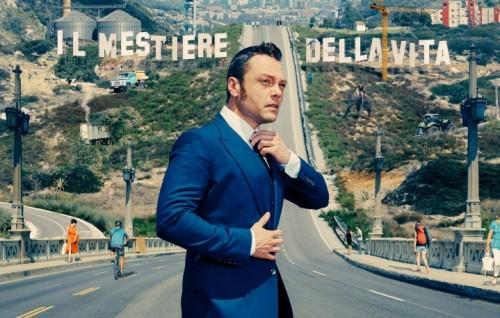 """Un dettaglio della copertina di """"Il Mestiere Della Vita"""", il nuovo album di Tiziano Ferro in uscita il 2 dicembre per Universal"""