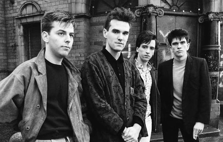 The Smiths, foto via Wrightphoto.co.uk