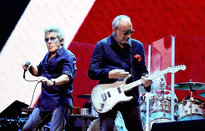 The Who al Desert festival, foto via Facebook