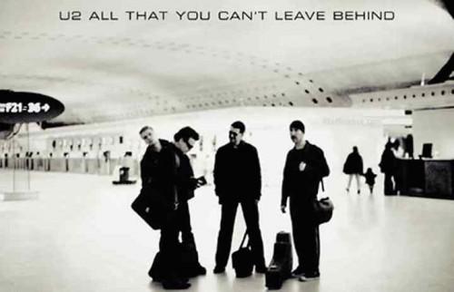 """Un dettaglio della copertina di """"All That You Can't Leave"""" degli U2, 2000"""