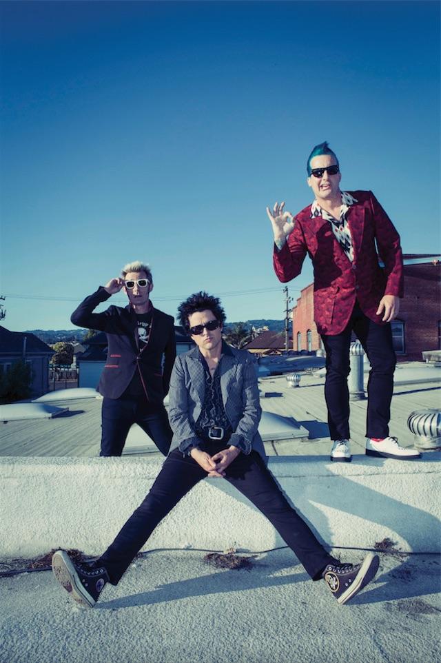 Green Day, foto Frank Maddocks