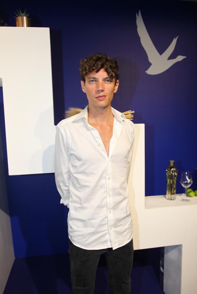 Francesco Tristano all'evento di Grey Goose a Venezia