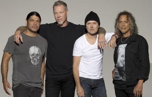 I Metallica sono, da sinistra, Robert Trujillo, James Hetfield, Lars Ulrich e Kirk Hammett. Si sono preparati duramente per l'uscita del disco Hardwired... To Self-Destruct, il 18 novembre, e all'avvio del nuovo tour mondiale - Foto Ross Halfin