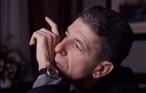 Leonard Cohen, foto via FB ufficiale