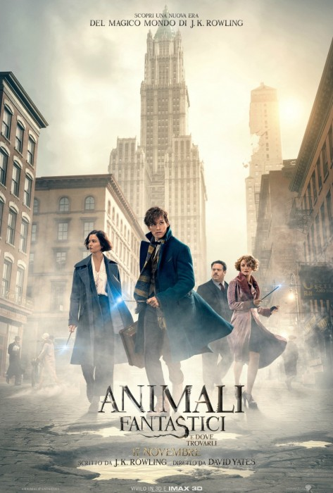Animali Fantastici e Dove Trovarli - David Yates