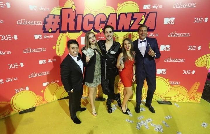 Il cast di #Riccanza