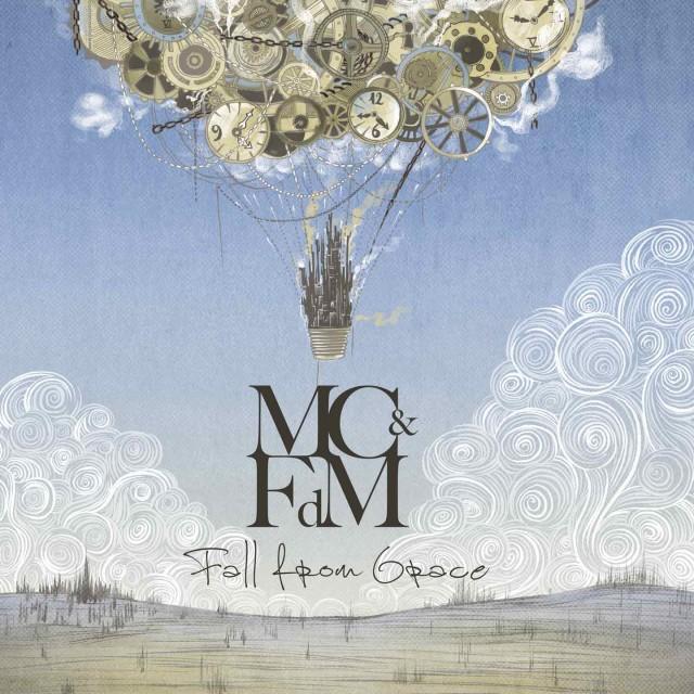 """La copertina di """"Fall From Grace"""" di Mattia Caroli & I Fiori del Male, uscito il 21 ottobre"""