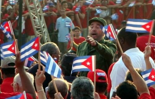Fidel Castro nel 2005 a Cuba. Foto: Vandrad