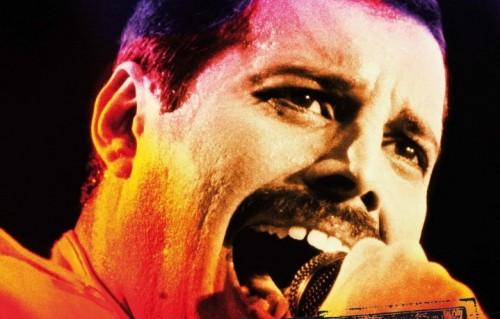 """Un dettaglio della copertina di """"Freddie Mercury"""" il nuovo capitolo della storia del rock, il quarto, appena pubblicato da Hoepli e scritto da Luca Garrò. La prefazione è di Cesare Cremonini"""