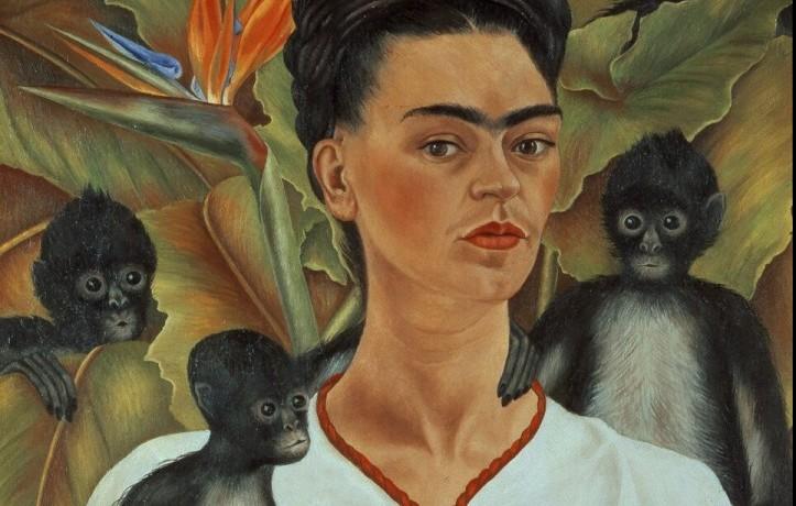 La pittrice messicana Frida Kahlo, all'anagrafe Magdalena Carmen Frida Kahlo y Calderón