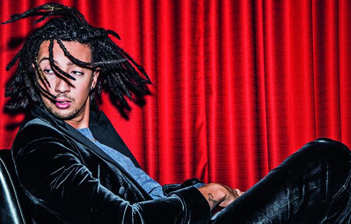 Ghali fotografato da Paolo Leone per Rolling Stone
