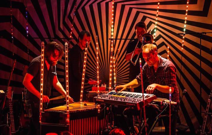 Jaga Jazzist durante il live al Blue Note di Tokyo, foto via Facebook