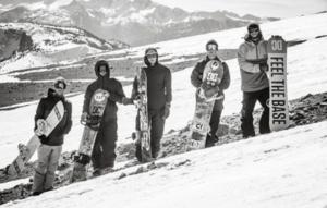 Lo Snowboard Team DC alle mitiche Mammoth Mountain, in California