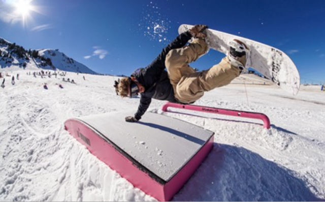 Lo Snowboard Team DC alle mitiche Mammoth Mountain, in California