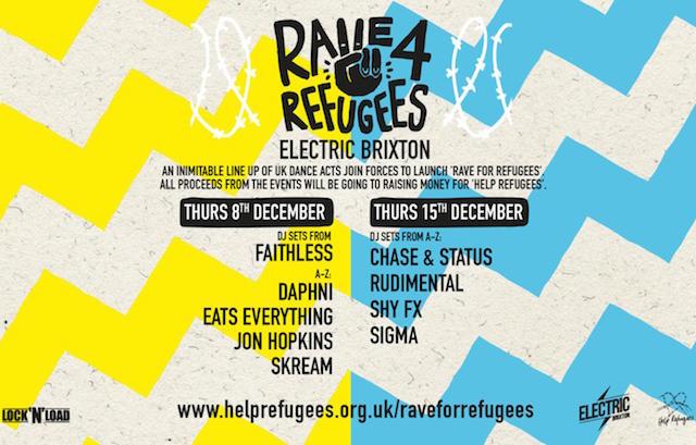 Rave For Refugees