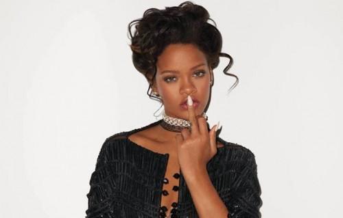 Rihanna, foto via Facebook