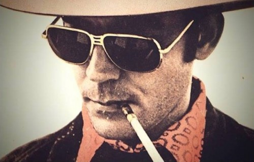 Hunter S. Thompson, foto via Facebook