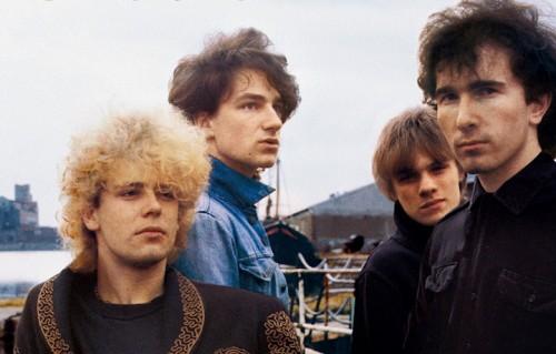 Un dettaglio della copertina di October, il secondo album degli U2