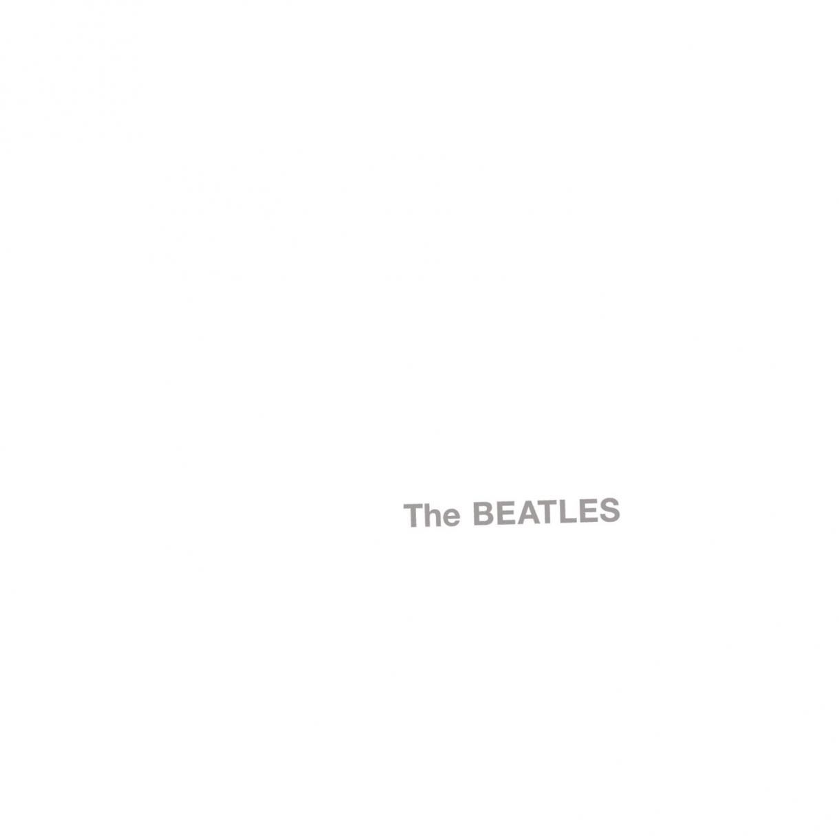 """La cover di """"The Beatles"""", noto con il nome White Album"""