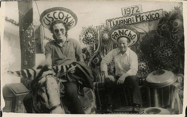 Bruce Springsteen insieme al padre