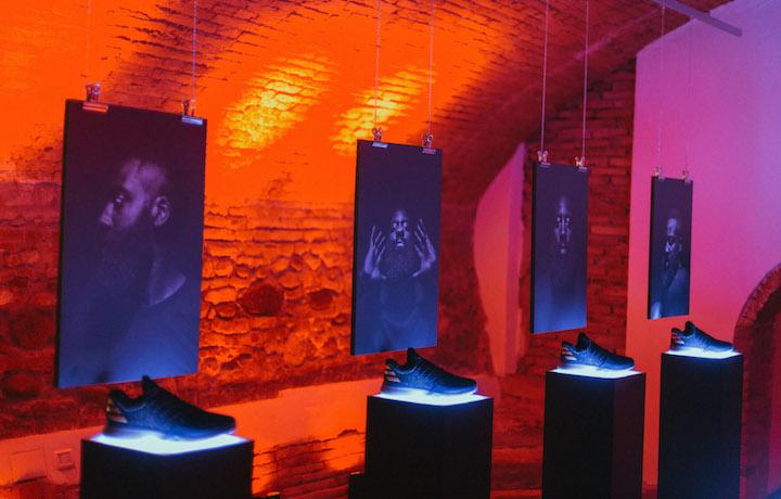 L'interno di Doubleclutch Verona per il #projectHarden