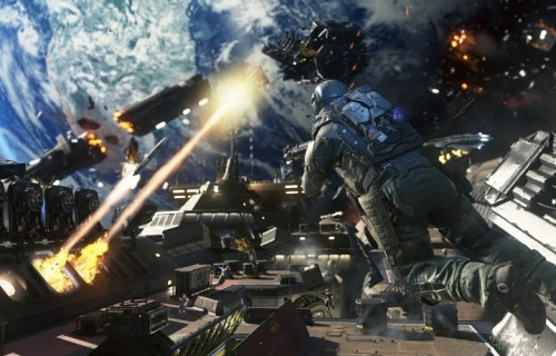 "Un fotogramma da ""Call Of Duty: Infinite Warfare"""