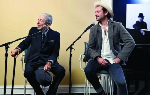 Leonard e Adam Cohen il 13 ottobre 2016, foto Frank Micelotta/Sony Music Canada