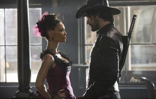 Unimmagine dal seti di Westworld - Foto HBO