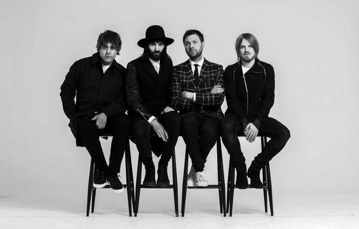 I Kasabian in concerto al Rock in Roma 2017