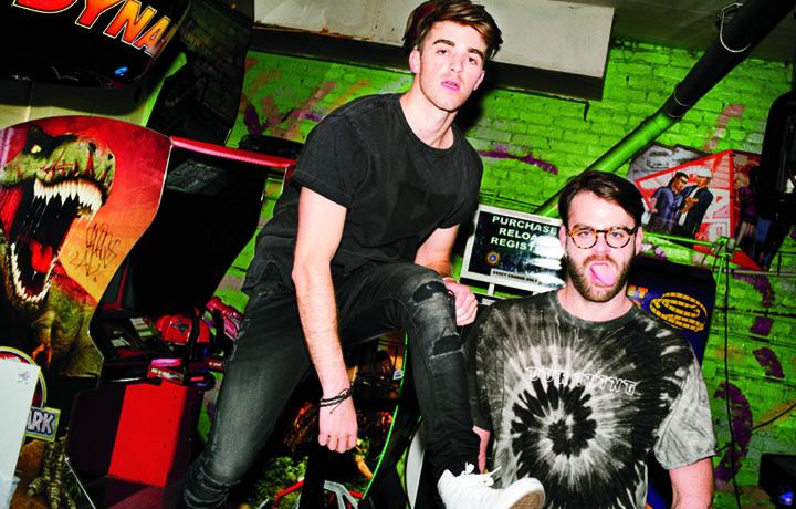 I Chainsmokers sono, da sinistra, Andrew Taggart e Alex Pall. Hanno iniziato la loro carriera nel 2012. Il primo EP, Bouquet, è del 2015 - Foto Jason Nocito