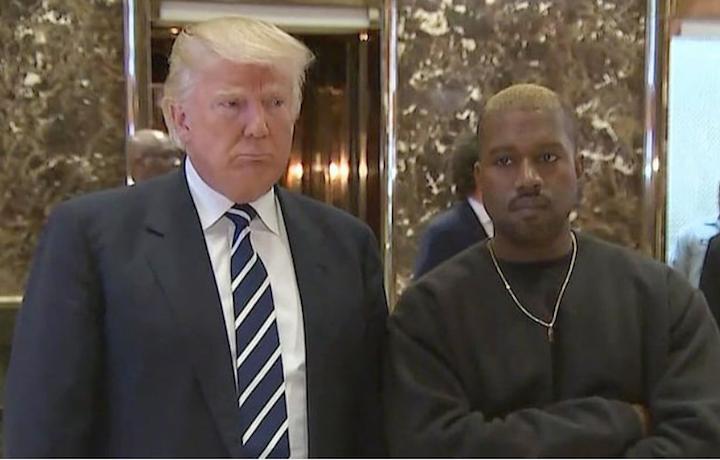 Finalmente Kanye è riuscito a incontrare Trump