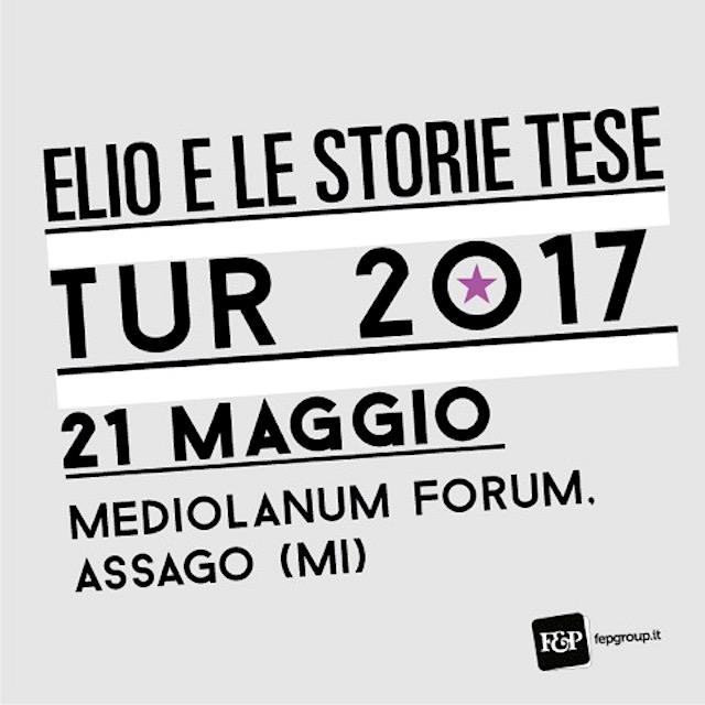 ELIO E LE STORIE TESE FORUM, TUR 2017