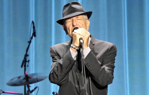 Leonard_Cohen, foto via Wikimedia