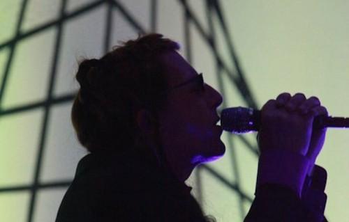 Maynard James Keenan con gli A Perfect Circle nel 2011 - Foto via Facebook