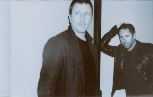 Trent Reznor e Atticus Ross dei Nine Inch Nails - Foto via Facebook