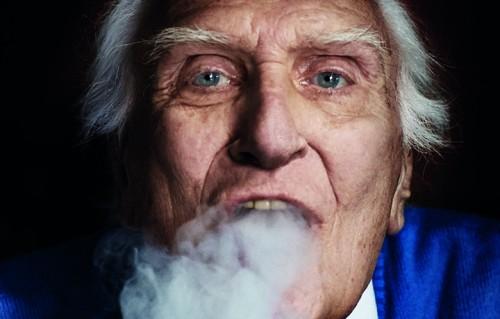 Marco Pannella fotografato da Giovanni Gastel per Rolling Stone