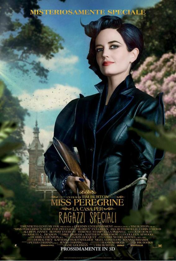 Miss Peregrine - La casa dei ragazzi speciali - Tim Burton