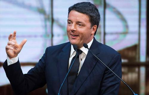 Matteo Renzi, foto via Facebook