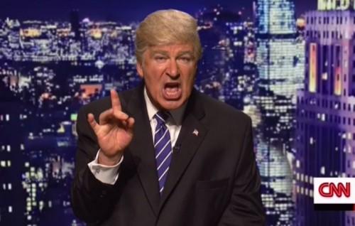 Alec Baldwin ha interpretato per la prima volta Donald Trump durante l'ultima puntata del Saturday Night Live
