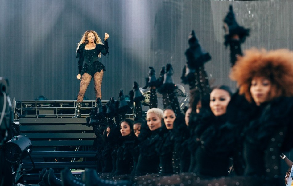 "Uno scatto dal ""Formation World Tour"""