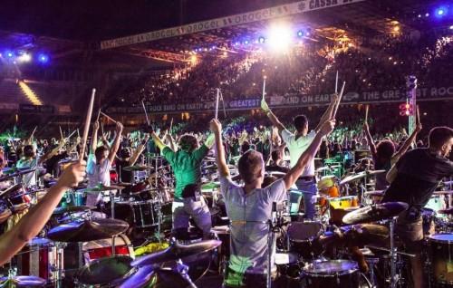 """""""Thats Live"""" - Rockin1000. Foto da pagina Facebook Ufficiale"""