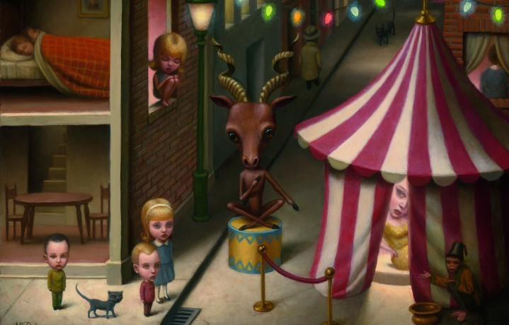 """Night Fair"" di Marion Peck"