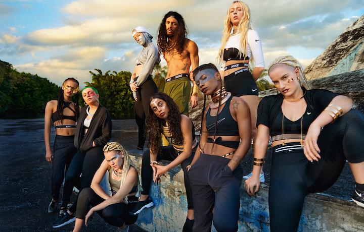 Il gruppo di ballerini e artisti riuniti da FKA Twigs