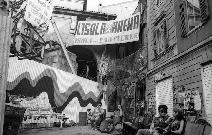 L'Isola nel Kantiere, centro sociale di Bologna attivo dal 1988 al 1990