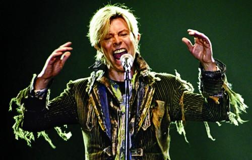 David Bowie a Praga nel 2004, foto di David W Cerny/Reuters/Corbis