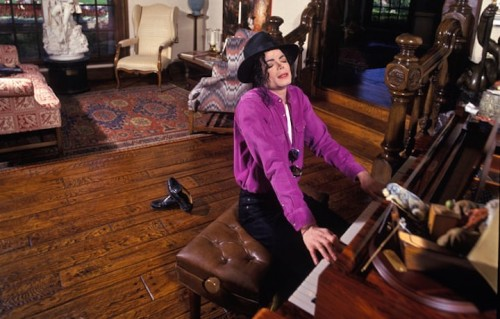 Michael Jackson a Neverland, foto di Harry Benson