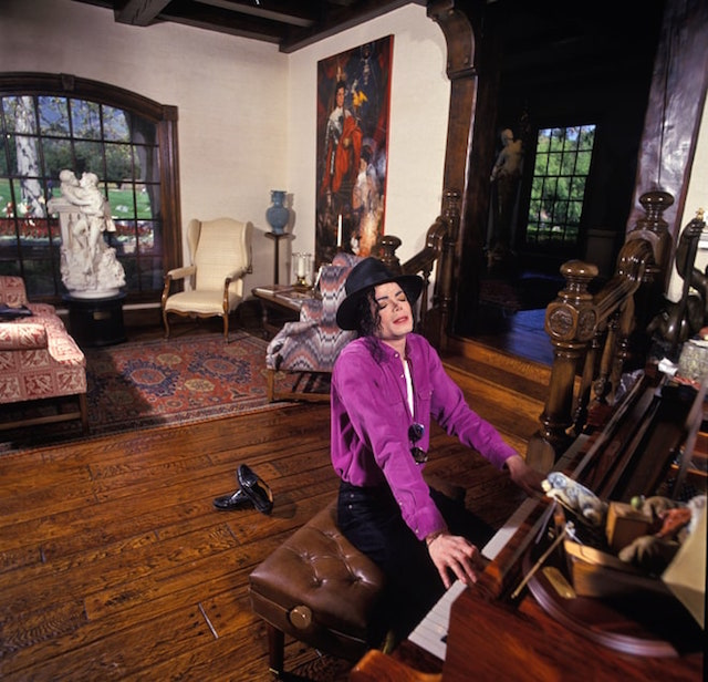 Michael Jackson a Neverland, foto di Harry Benson